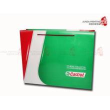 CMYK Printed Gloss art Paper Bag Custom Printed Paper Bags