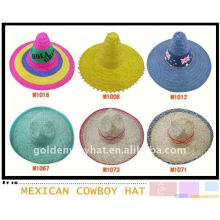 custom fashion wide brim sombrero mexican hat