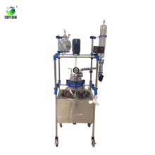 TST-30BS 30L pressure vessel reactor/pressure glass vessel /pressure glass reactor