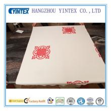 Китайский узор узел ткань полиэфира для Тюфяка