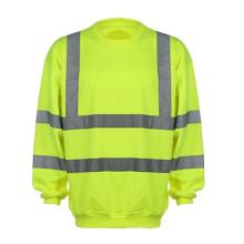 Hi Vis Sweatshirt 100% Polyester Fleece