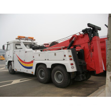 HOWO Towing Capacity 50ton Road Wrecker for Sale