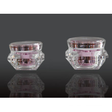 Jy207 15g Diamond Cosmetic Jar with Any Color