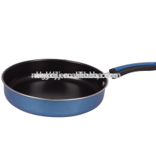 enamel fry pan & new product of carbon steel with enamel coating