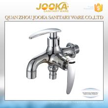 Профессиональное изготовление латунной двухсторонний хром кран водопроводной воды