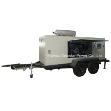 180kw Trailer Mobile Diesel Generator with Perkins Engine