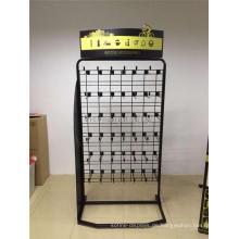 Metal Floorstanding Kd Paket Bike Radfahren Raster Panel Hanging Zubehör Display Stand Großhandel