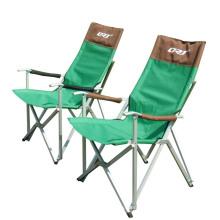 Peso leve de alumínio dobrável cadeira de acampamento ao ar livre