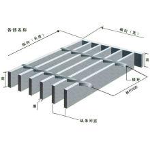 Стальная решетка плоской формы, решетка стержня