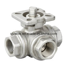 Stainless Steel 3 Way Ball Valve with High Quality