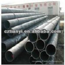 ASTM A252 tamanhos de tubos redondos de aço