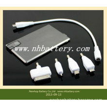 Lithium Phone Battery Charger with USB Flash Memory