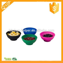Reusable Multi-function Custom Silicone Mini Food Bowl