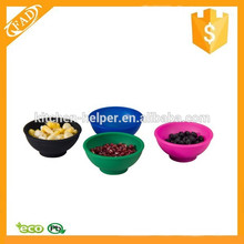 Alimento Grade Hot-venda Premium Silicone Mini Pinch Bowl