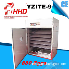 880 Eggs CE Approved Digital Egg Hatching Machine (YZITE-9)