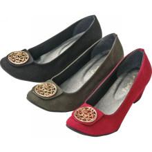 Новый стиль самых продаваемых клин обуви высокие каблуки женщин случайный обуви