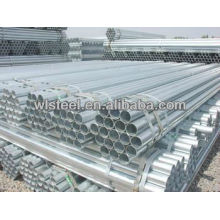 Q235 B hot dipped galvanized steel pipes