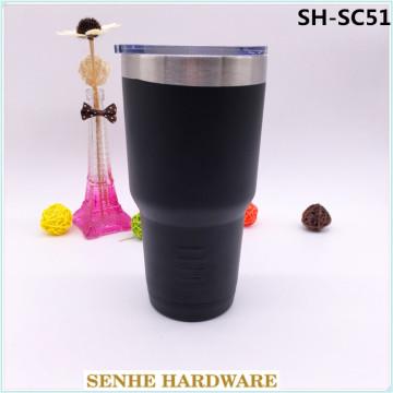 Vente en gros de produits en plastique de tasses à café à double mur Yeti 450ml (SH-SC51)
