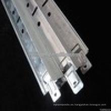 barra de techo suspendido t / rejilla de techo suspendido de aluminio