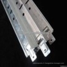 t barre de plafond suspendu / grille de plafond suspendu en aluminium