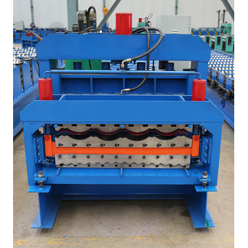 Galwanizowane Double Deck Metal Roof Panel Machine