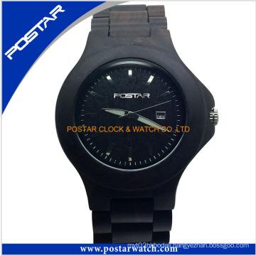 Fashionable Wooden Watch Unisex Wrist Quartz Watch