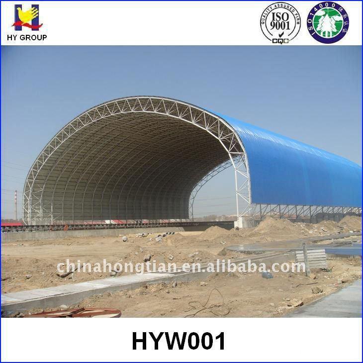 metal space frame roof