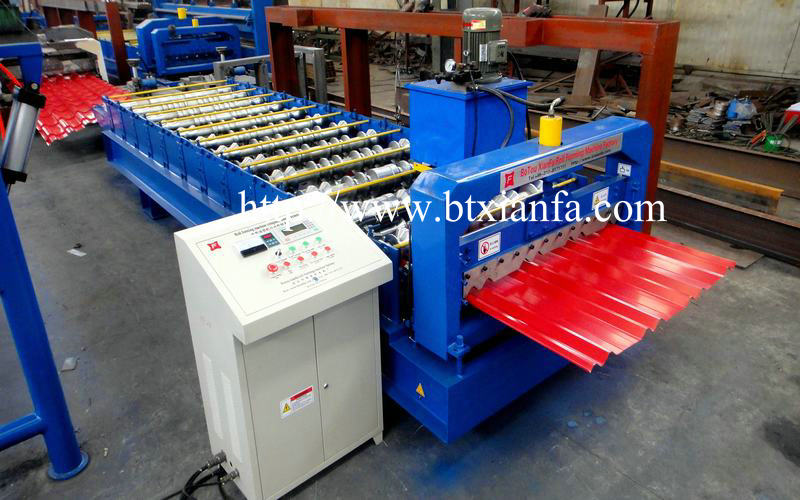 Panel Profile Machine
