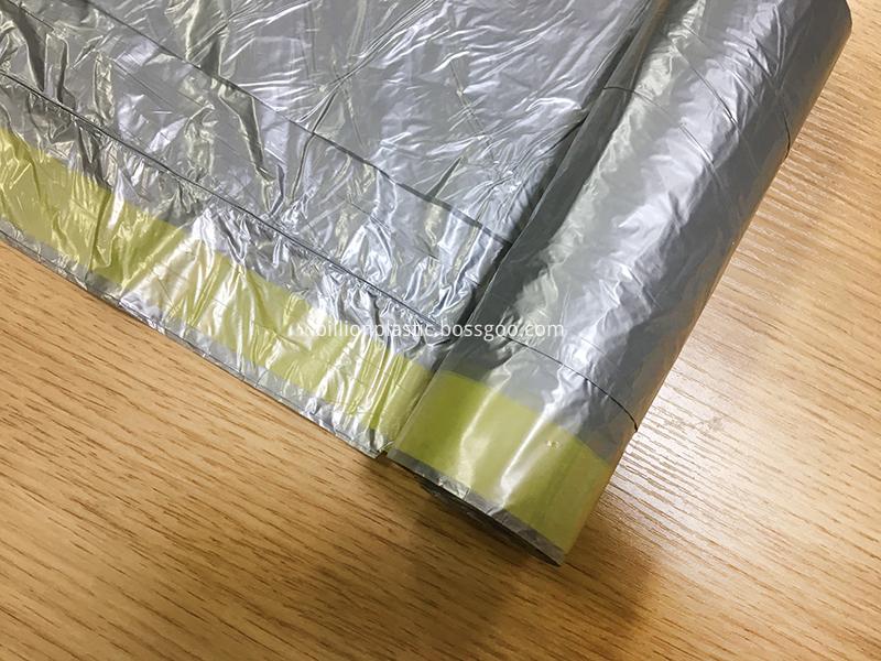 Plastic Drawstring Garbage Bag