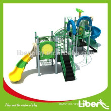 2015 Liben Play Plastic Outdoor Playground Structure with Slides, Monkey Bars and Climbing Frame