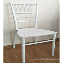 Wholesale white plastic chairs hotel wedding tiffany chiavari chairs