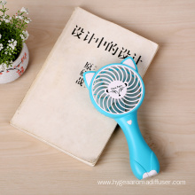 China for Portable Rechargeable Fan Mini Table Portable Desk Hand Held Battery Fan supply to France Exporter