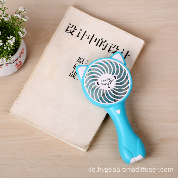 Portable USB Lade Mini Electric Fox Hand-Fan