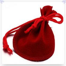 Saco da jóia da forma com cor vermelha (bg0003)