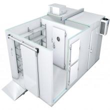 Sala de armazenamento de armazenamento de peixe recipiente de poupança de energia