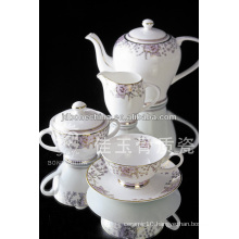 15pcs new design royal bone china coffee set paper coffe cup