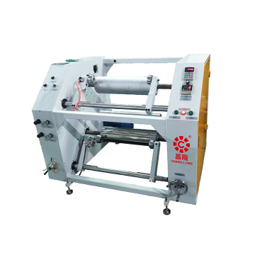 Mesin Stretch Film Rewinder