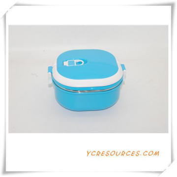 Plastic Stainless Steel Lunch Box for Promotional Gifts (HA62015)