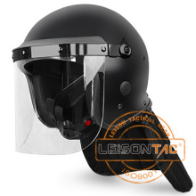 Casco Riot (mate) de material de PC / ABS