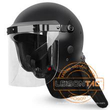 Anti émeute casque de sécurité en haute qualité répond à la norme ISO