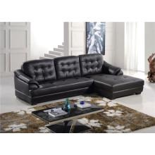Echtes Leder Chaise Leder Sofa Elektrisch Verstellbares Sofa (759)