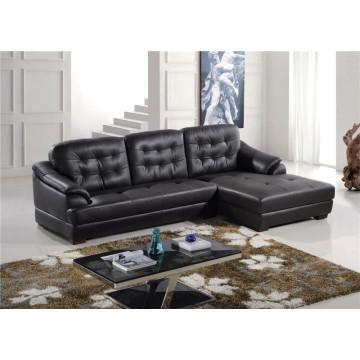 Натуральный кожаный кожаный диван для дивана с электроприводом (759)