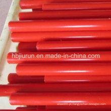 Placa de fundição de PU vermelho para indústria