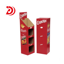 High Quality for Ladder Floor Display Stand ​Supermarket paper ladder floor display stand supply to Spain Manufacturer