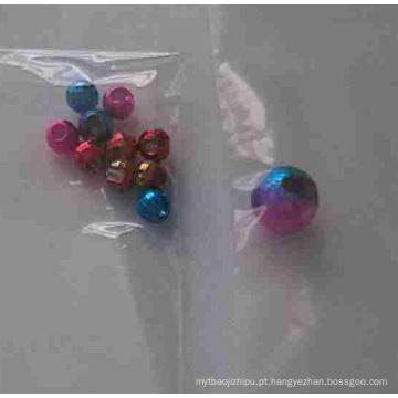 Grânulos de tungstênio Iridescence com furo