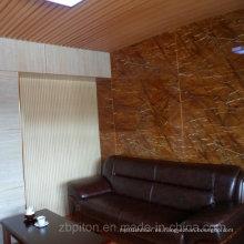 Panel de pared decorativo interior revestido de UV