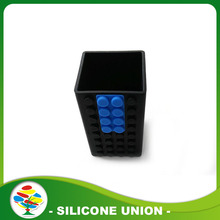 Unbreakable Silicone bút Container/sử dụng Pen Holder