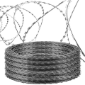 weight barbed razor  wire low price concertina razor barbed wire taut Razor Barbed wire