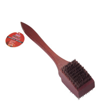 Grill brush with long handle
