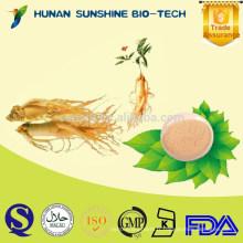 Puissance de sexe augmentant la poudre d'extrait de Panax Ginsenoside Rg1 99% de fines herbes